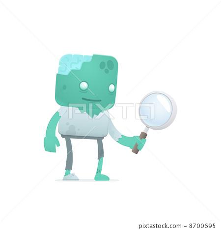 funny cartoon zombie 8700695