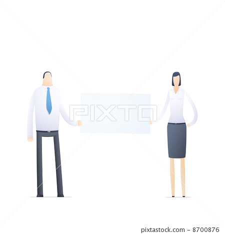 business people in different situations 8700876