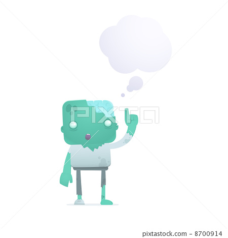 funny cartoon zombie 8700914