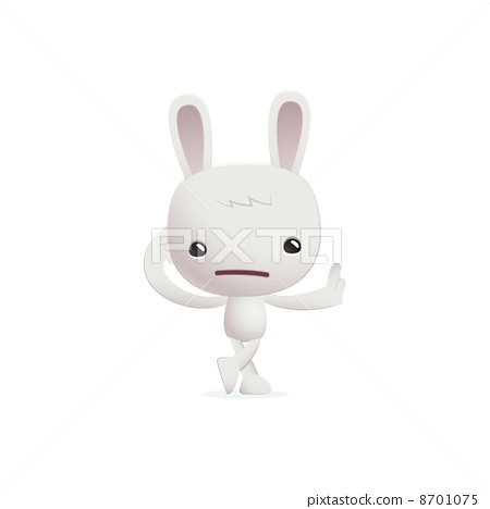 bunny in various poses 8701075