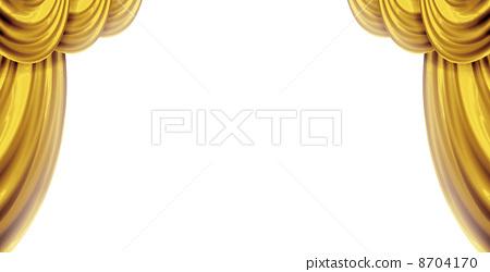金色的窗簾 8704170