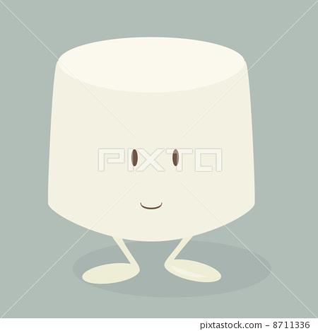 Marshmallow character 8711336