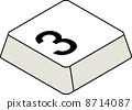 鍵盤編號3 8714087