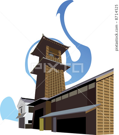 Kawagoe time bell 8714525