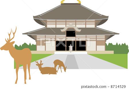 奈良东大寺 8714529