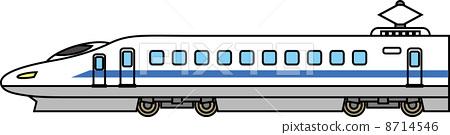Super express train 8714546