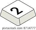 鍵盤編號2 8714777