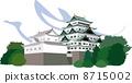 Nagoya castle in Nagoya 8715002