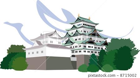 名古屋城堡在名古屋 8715002
