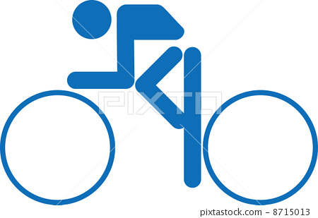 Pictogram of cycling competition 8715013