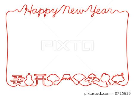 新年贺卡 8715639