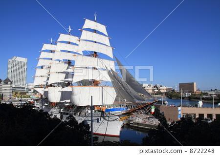 The Japanese sail total sail exhibition sail 8722248
