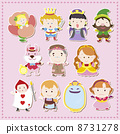 cartoon story people icons 8731278