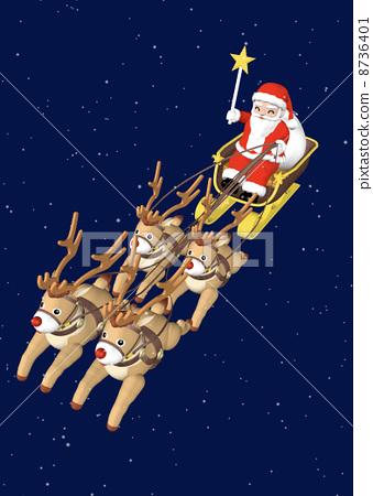 christmas eve, santa clau, santum 8736401