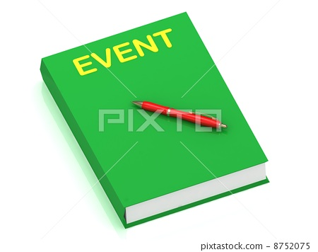 EVENT inscription on cover book 8752075