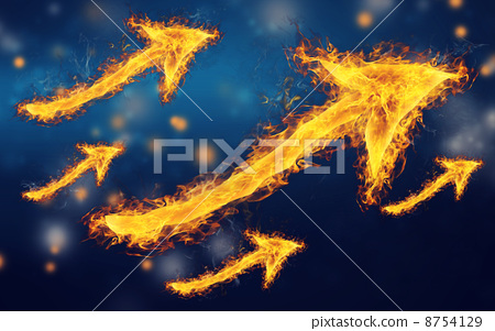 flame, arrow, arrows 8754129