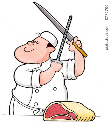 Working person 12 Butcher 8772706