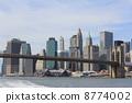 NY 이스트 리버에서의 경치 뉴욕 미국 8774002