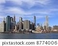 NY 이스트 리버에서의 경치 뉴욕 미국 8774006