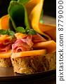 Ham and melon appetizer 8779000