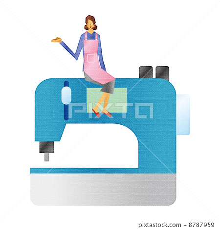 Sewing machine and housewife 8787959