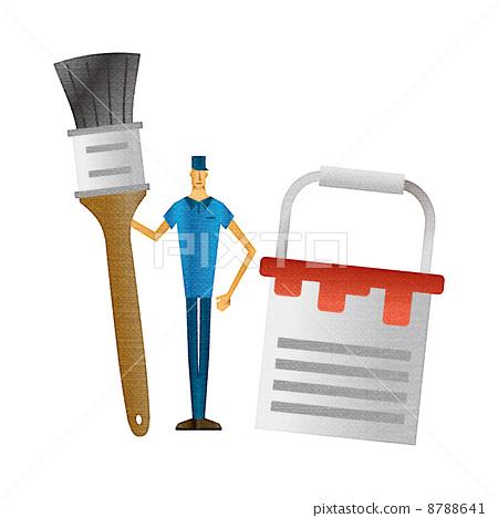 Paint paint contractor paint shop paint industry paint worker 8788641