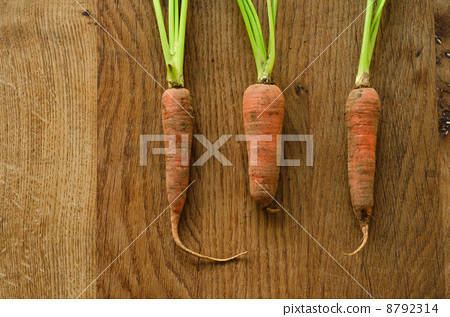Carrots with mud 8792314