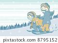 Snowboard_2boarder 8795152