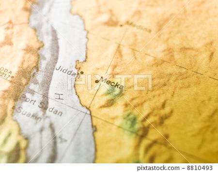 Map of Mecka 8810493