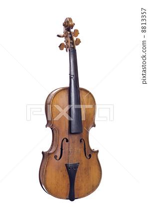 Old broken violin 8813357