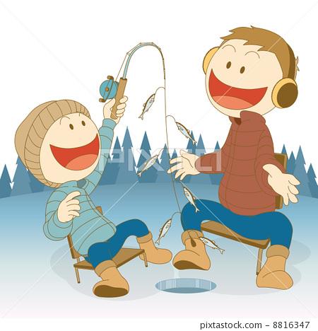 IceFishing_family 8816347