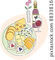 什錦 拼盤 奶酪 8833816