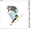 snowboard, snowboarding, snowboarder 8870681