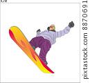 snowboard, snowboarding, snowboarder 8870691