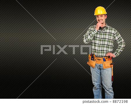 caucasian man tools 8872198
