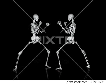 skeleton 8891374