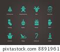 Christmas icons. 8891961