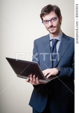 안경, 인터넷, 노트북 8900904