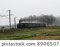 오우 본선의 SL 열차 8906507