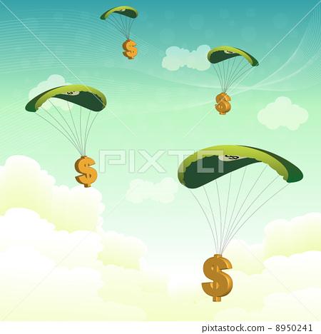 dollar parachutes 8950241