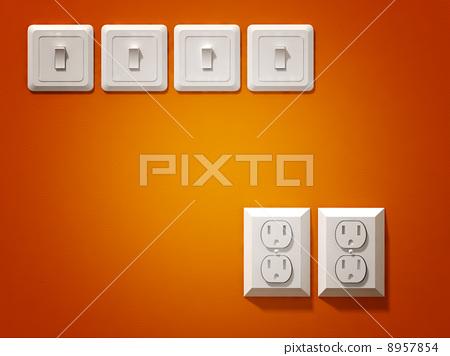 electric plug 8957854
