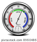 hygrometer with thermometer 8960486