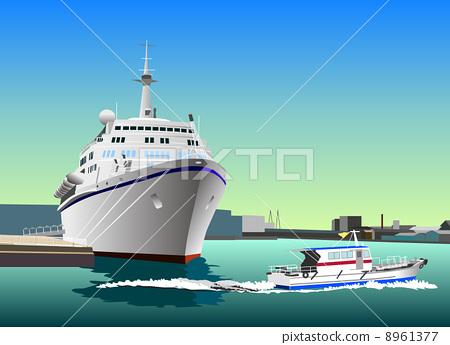 Passenger boat and pilot boat 8961377