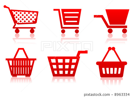 Icon of a food basket 8963334