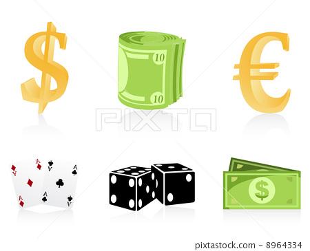 Icons of money 8964334