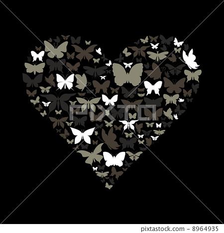 Heart the butterfly 8964935