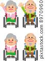노부부 (휠체어) 8970960