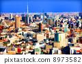 東京的街道 8973582