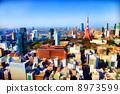 東京和東京鐵塔的建築物 8973599