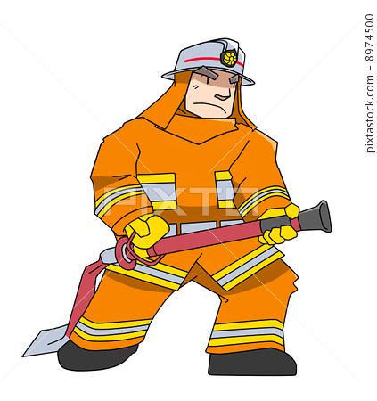 Firefighter (Orange) 8974500